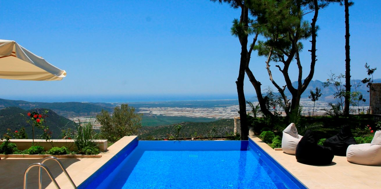 Fabulous views from Islamlar villas